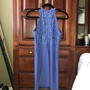 Night Way Collections Dresses - Purple Halter Top Dress